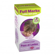 FULL MARKS Spray antipoux et lentes Fl/100ml+peigne
