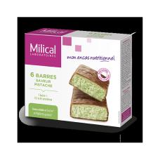 MILICAL HYPERPROTEINE Barre chocolat pistache Etui/6