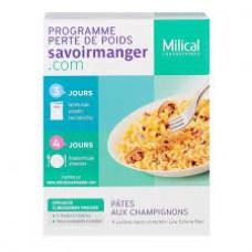 MILICAL LOW CALORIE DIET Pâtes champignons 4Sach