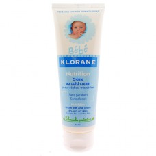 CREME NUTRITIVE AU COLD CREME KLORANE 125ML