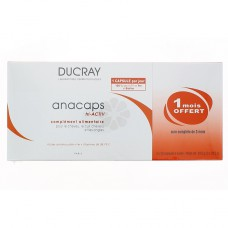 ANACAPS TRIACTIV COMPLEMENT ALIMENTAIRE DUCRAY 30 x 3