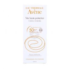 CREME SOLAIRE MINERALE SPF50+ AVENE 50ML
