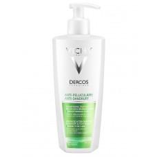 DERCOS TECHNIQUES Shampooing antipelliculaire normalisant gras Fl pompe/390ml