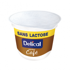 DELICAL CREME DESSERT SANS LACTOSE Nutriment café 4Pots/200g