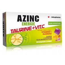 AZINC ENERGIE TAURINE+VIT.C Cpr à croquer dès 15 ans B/30