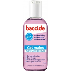 BACCIDE Gel mains désinfectant Amande douce Fl/75ml