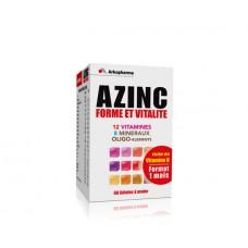 AZINC FORME ET VITALITE Gél dès 15 ans Fl/60
