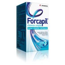 FORCAPIL Gél croissance vitalité cheveux ongles Pilulier/180+60