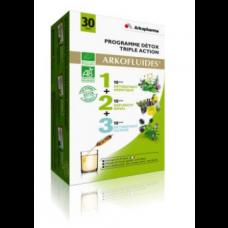 ARKOFLUIDE BIO Coffret programme détox 3x10Amp/15ml