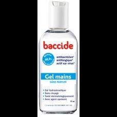 BACCIDE Gel mains désinfectant sans rinçage Fl/75ml