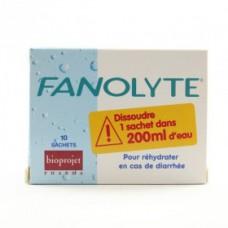 FANOLYTE Pdr pour réhydratation 10Sach