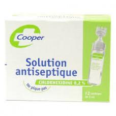 CHLORHEXIDINE COOPER 0,5 % S appl cut 12Unidoses/5ml