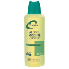 ALCOOL DENATURE COOPER 90° Sol Fl/250ml