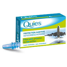 QUIES Protection auditive avion adulte B/2