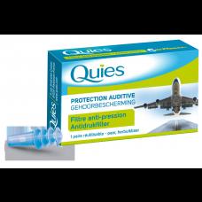 QUIES Protection auditive avion adulte B/2
