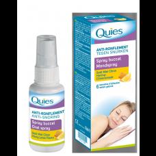 QUIES S bucc anti-ronflement miel citron Spray/70ml