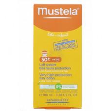 LAIT SOLAIRE MUSTELA SPF 50+ 100ML