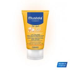 MUSTELA SOLAIRE SPF50+ Lait très haute protection visage T/40ml