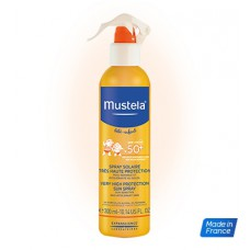 MUSTELA SOLAIRE SPF50+ Spray très haute protection Fl/300ml