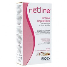 NETLINE Cr dépilatoire visage zones sensibles T/75ml