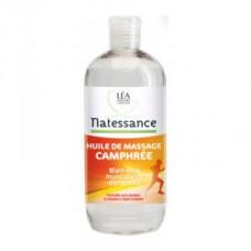 NATESSANCE Huile de massage Camphrée Fl/500ml