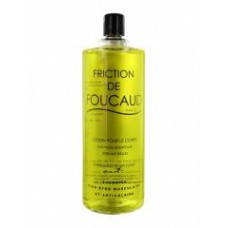 FOUCAUD Lot friction revitalisante corps Fl verre/500ml
