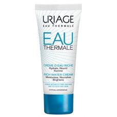 URIAGE EAU THERMALE Cr d'eau riche peau sèche à très sèche T/40ml
