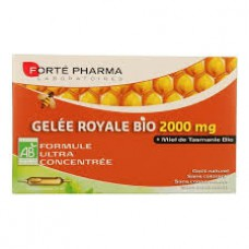 FORTE PHARMA Gelée royale bio 2000 mg S buv 20Amp/15ml