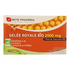 FORTE PHARMA Gelée royale bio 2000 mg S buv 20Amp/15ml