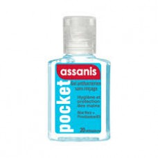 ASSANIS POCKET Gel antibactérien mains Fl/20ml