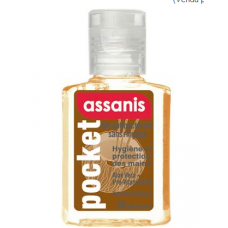 ASSANIS POCKET PARFUMES Gel antibactérien mains coco vanille Fl/20ml