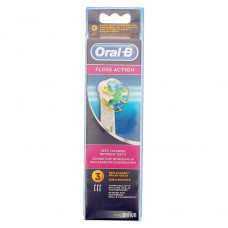 BROSSETTE DE RECHANGE ORAL-B FLOSS ACTION x 3
