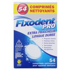 FIXODENT PRO COMPRIMES NETTOYANTS x 54