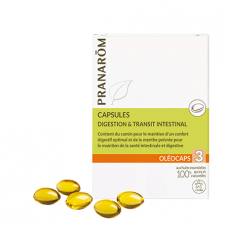OLEOCAPS 3 Caps digestion & transit intestinal B/30