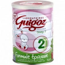 GUIGOZ FORMULE EPAISSIE 2 Lait pdre B/800g