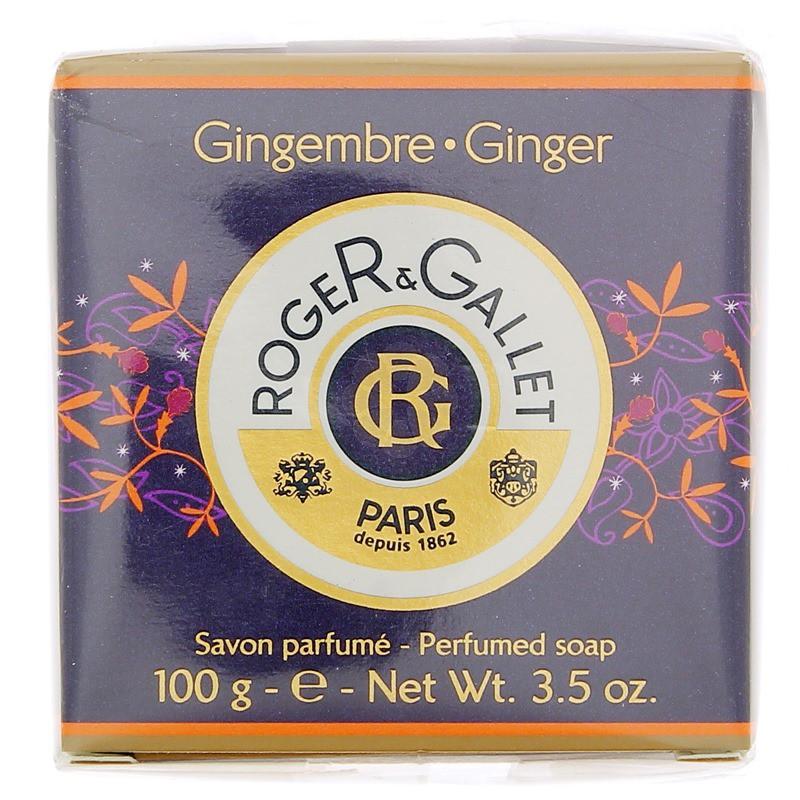 SAVON PARFUME GINGEMBRE ROGER & GALLET 100G