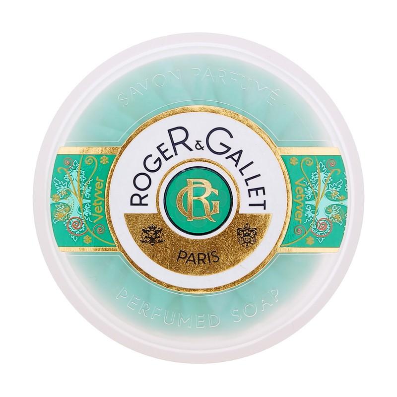 SAVON PARFUME VETYVER ROGER & GALLET 100G