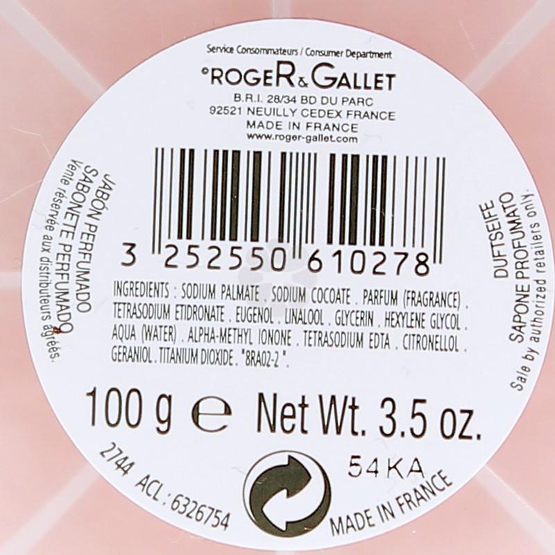 SAVON PARFUME OEILLET MIGNARDISE ROGER & GALLET 100G