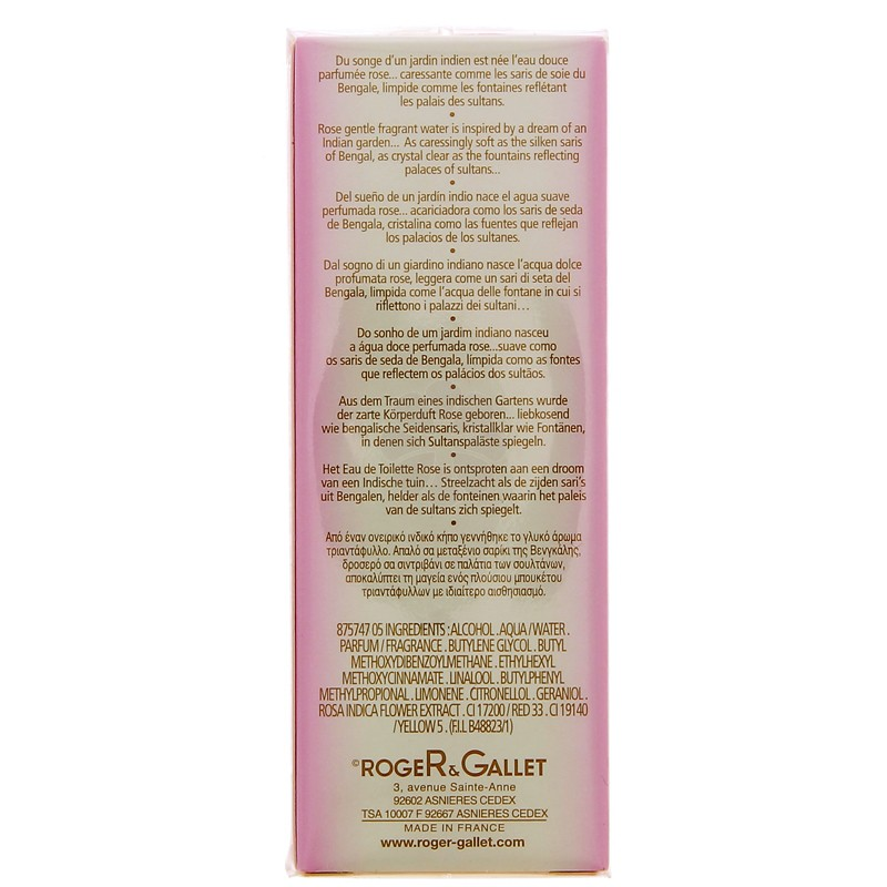 EAU DOUCE PARFUMEE ROSE ROGER & GALLET 30ML