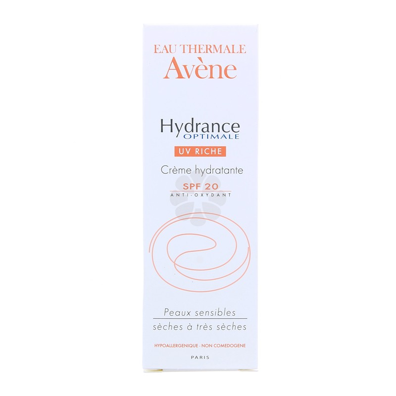 HYDRANCE OPTIMAL UV RICHE SPF20 AVENE 40 ML