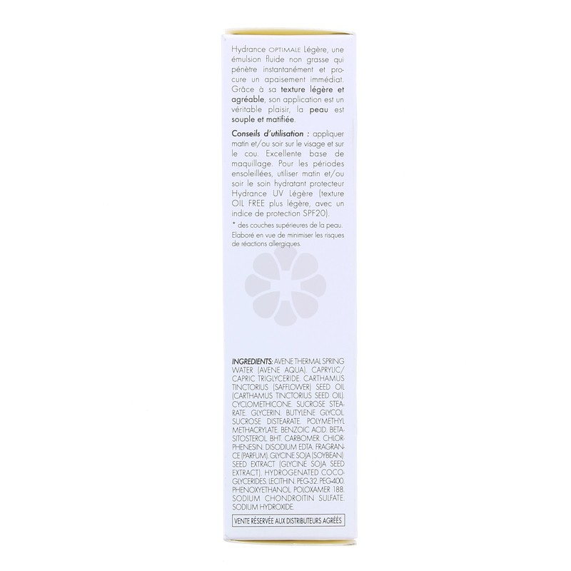 HYDRANCE OPTIMAL LEGERE AVENE 40ML