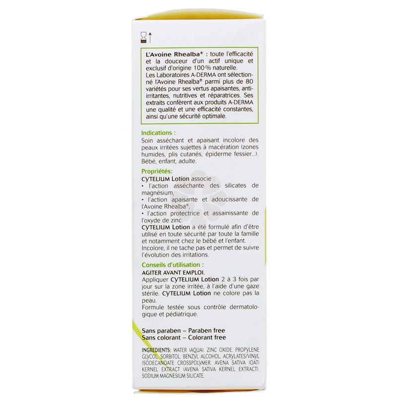 CYTELIUM LOTION ASSECHANTE A-DERMA 100ML