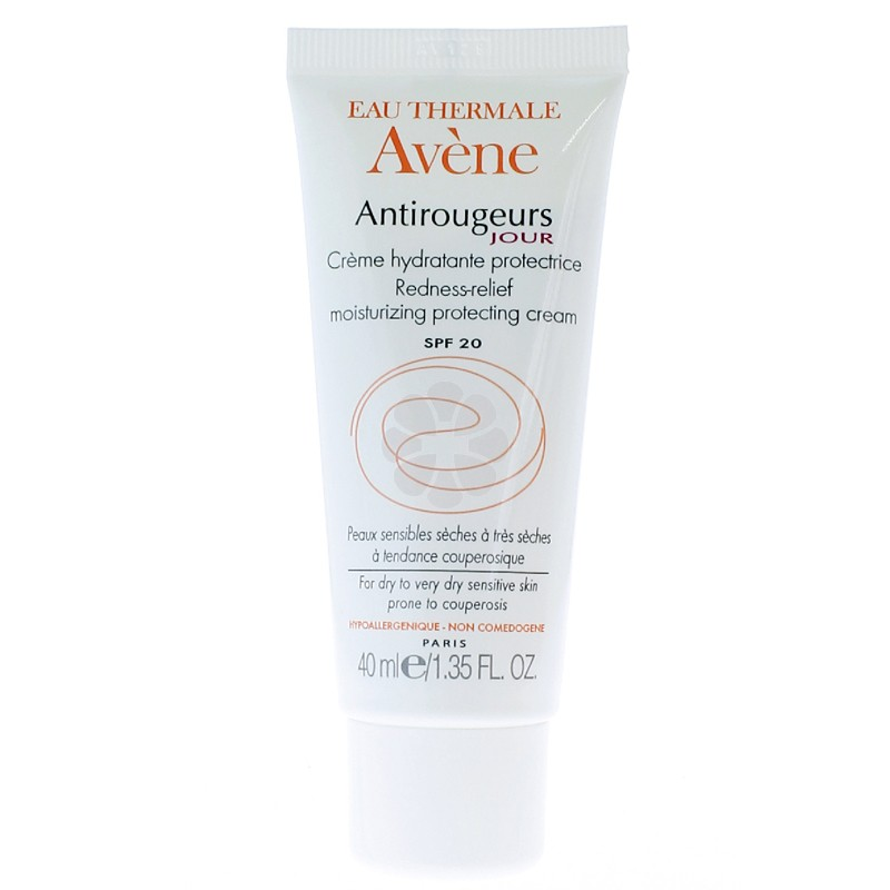 ANTIROUGEURS JOUR CREME HYDRATANTE PROTECTRICE AVENE 40ML