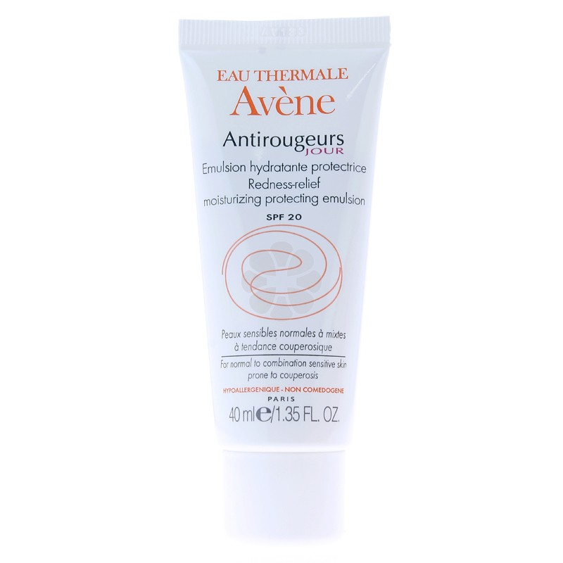 ANTIROUGEURS JOUR EMULSION HYDRATANTE PROTECTRICE AVENE 40ML