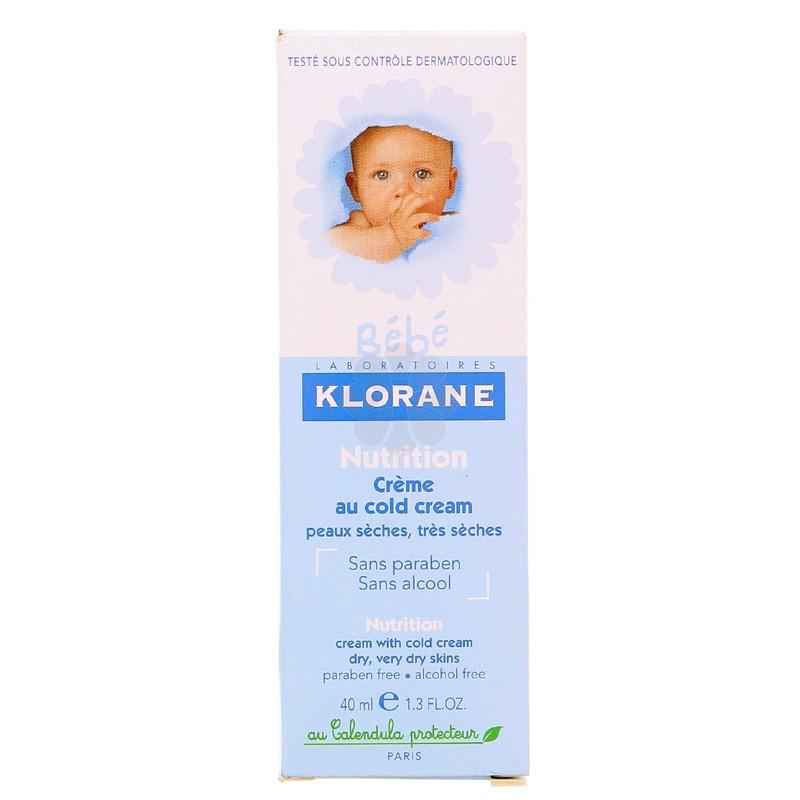 CREME NUTRITIVE AU COLD CREME KLORANE 40ML
