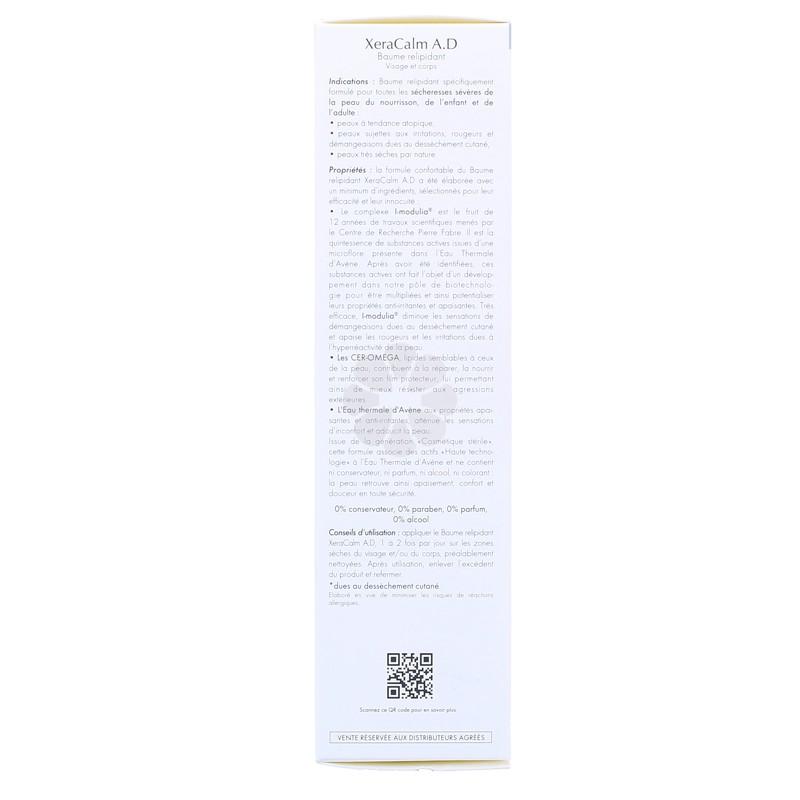 XERACALM A.D BAUME RELIPIDANT AVENE 200ML