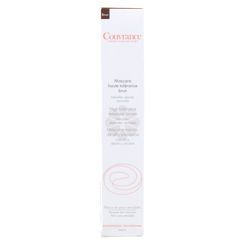 COUVRANCE MASCARA HAUTE TOLERANCE BRUN AVENE 7ML