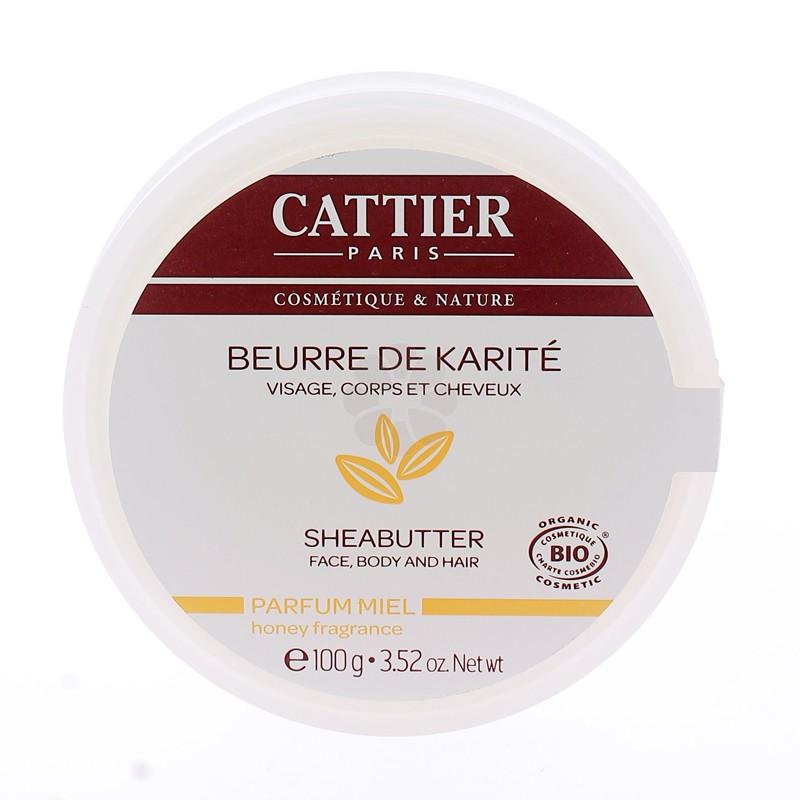 BEURRE DE KARITE MIEL CATTIER 100G