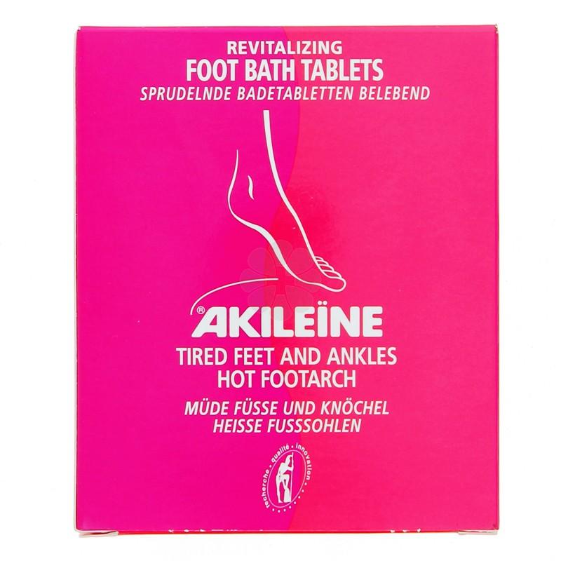AKILEINE GALETS DE BAIN EFFERVESCENTS REVITALISANTES x 6