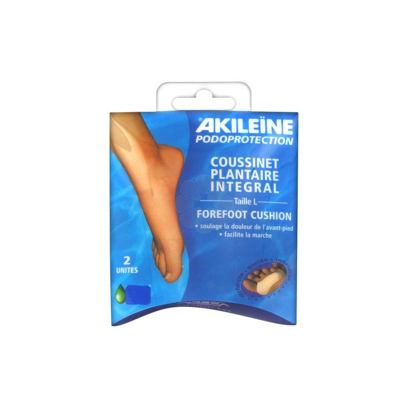 AKILEINE PODOPROTECTION COUSSINET PLANTAIRE INTEGRAL TAILLE S